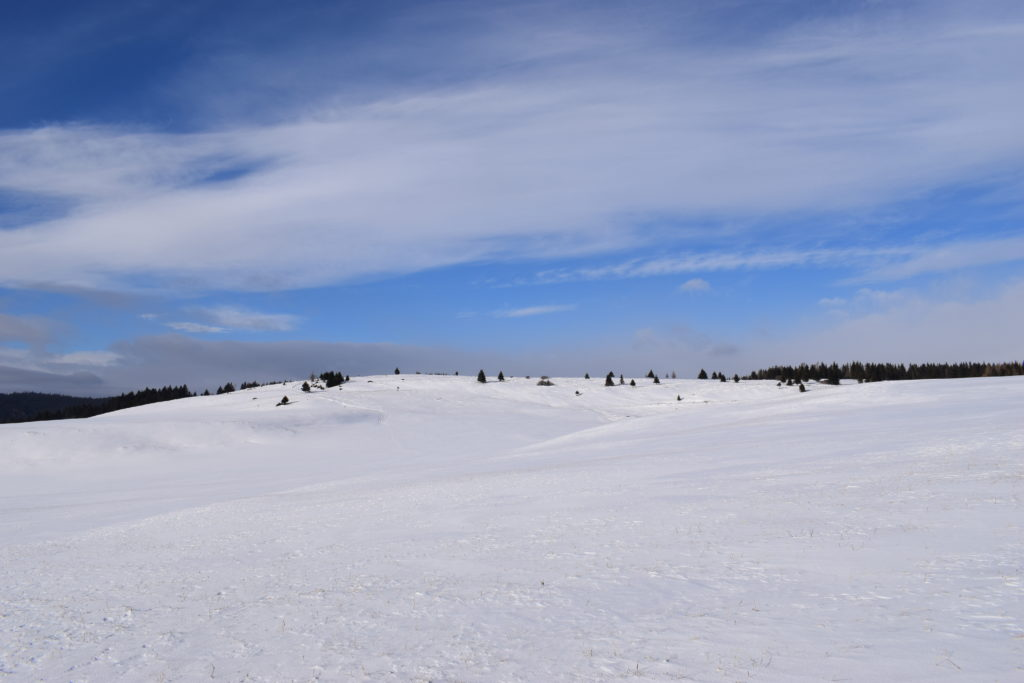 snowshoeing in Slovakia