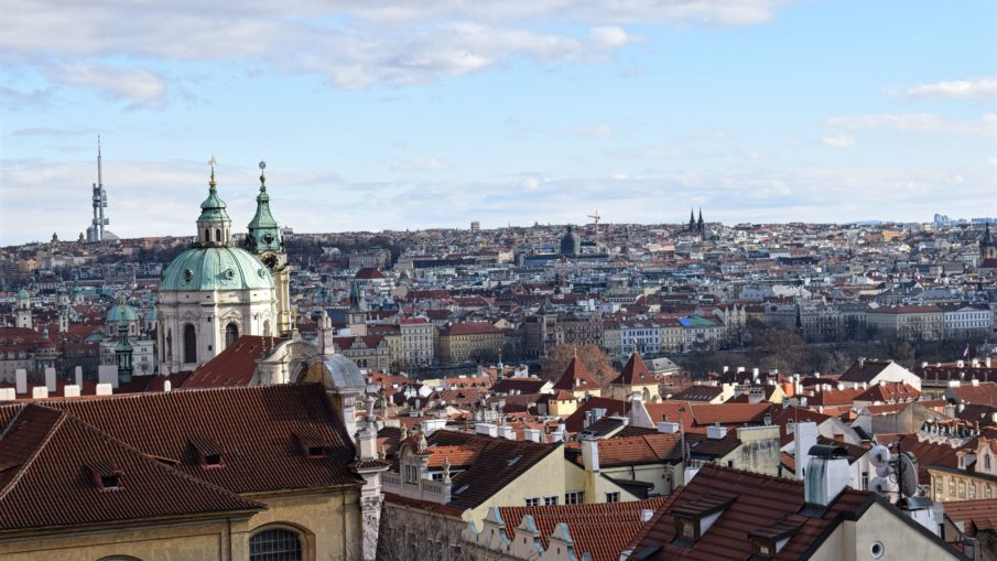 views of Prague