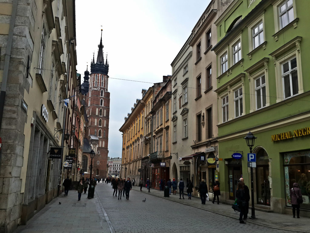one day in krakow