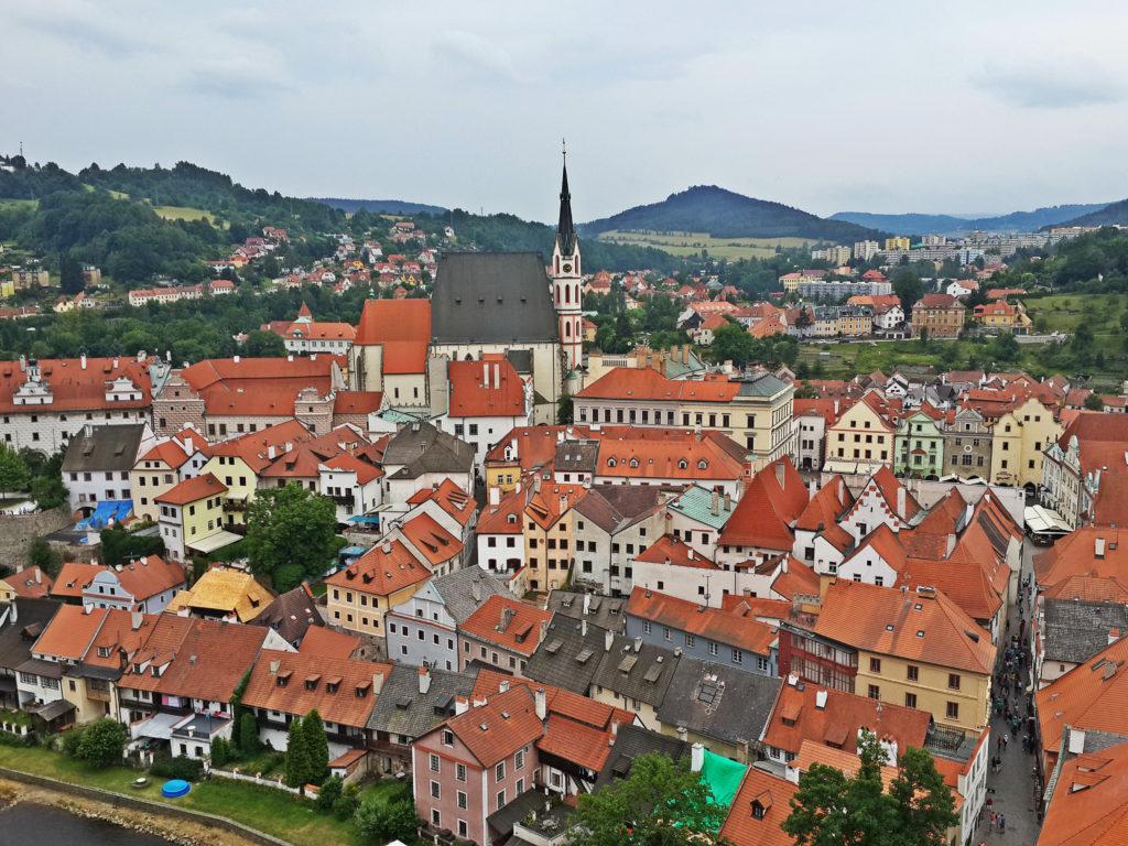 photo spots in Český Krumlov