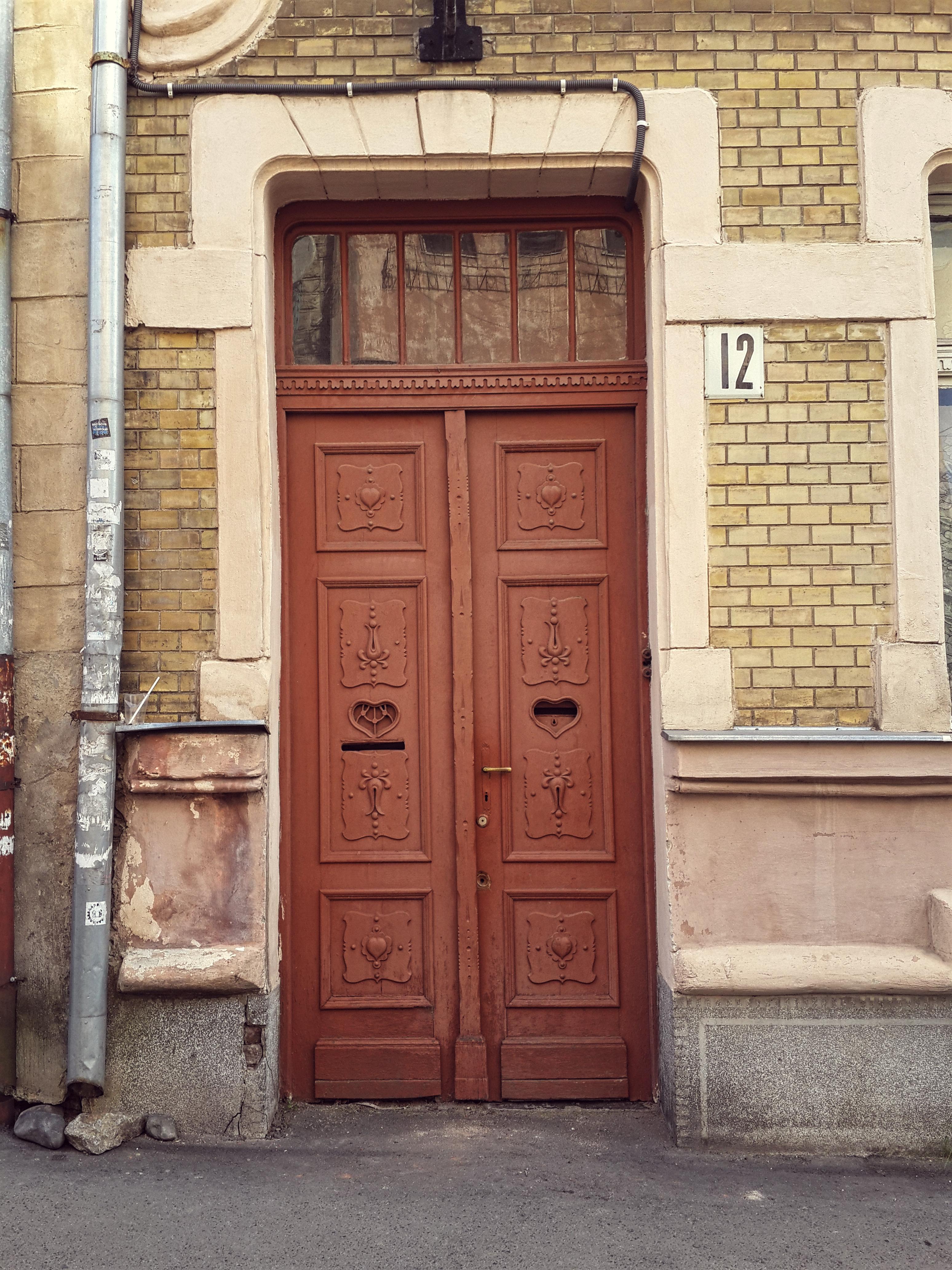 old doors of uzhhorod