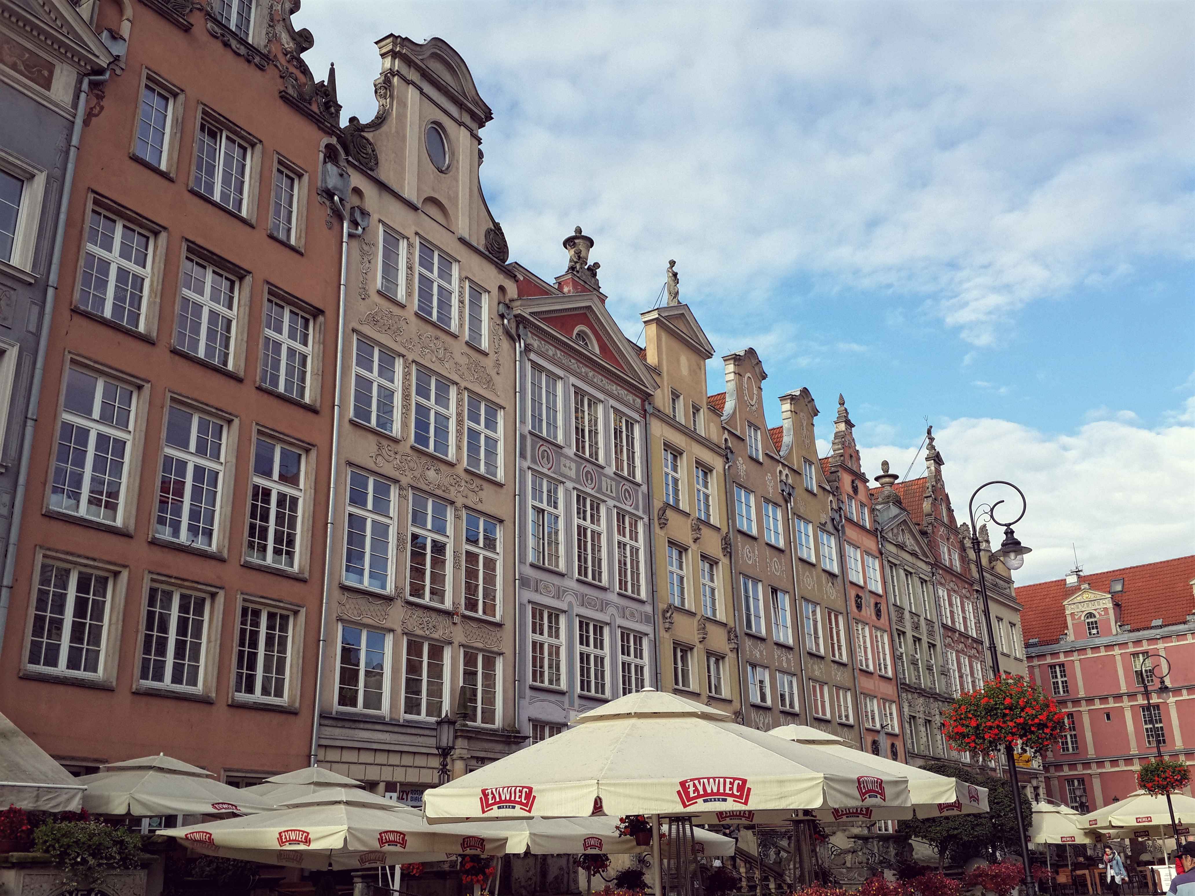 colorful houses of Gdańsk